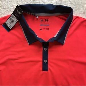 NWT Adidas ClimaCool Golf Polo Shirt